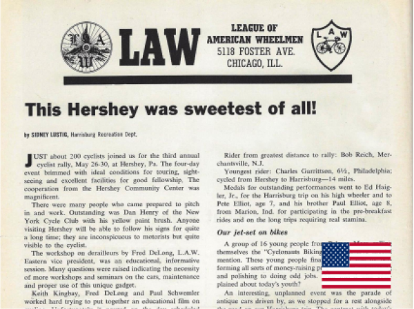 LAW - This Hershey was sweetest of all!